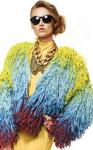 Модный тренд комбинирование меха в верхней одежде